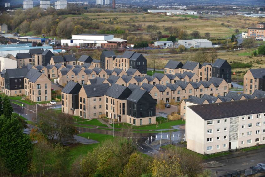 New community at Sighthill