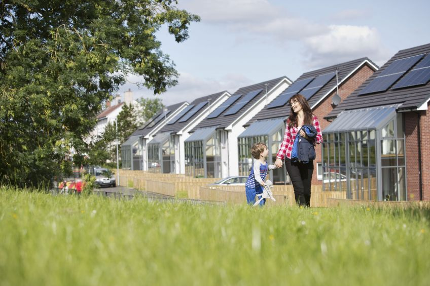 Solar panls help cut fuel bills