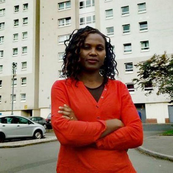 GHA tenant Blandine Damtse