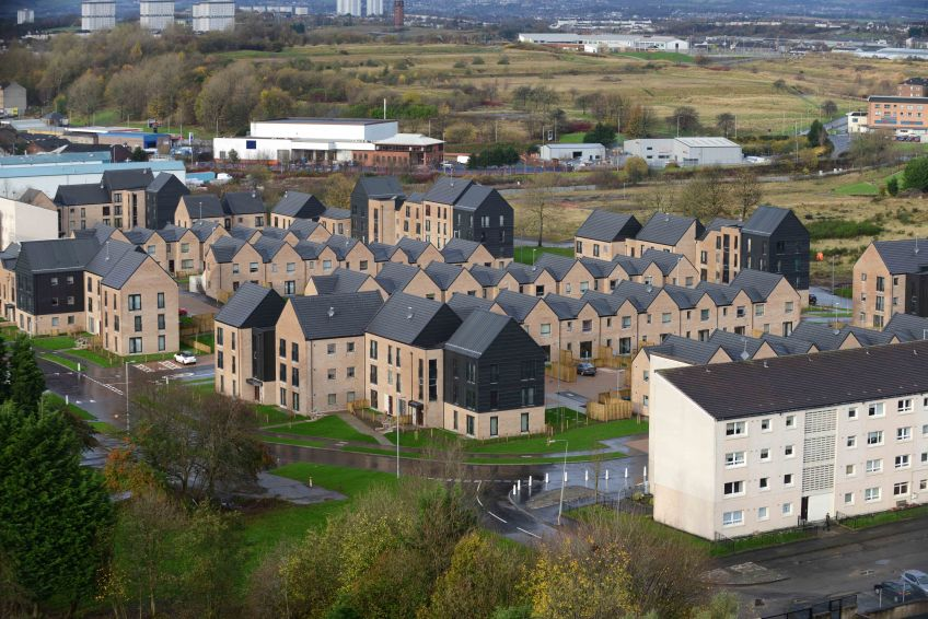 Sighthill new-build homes