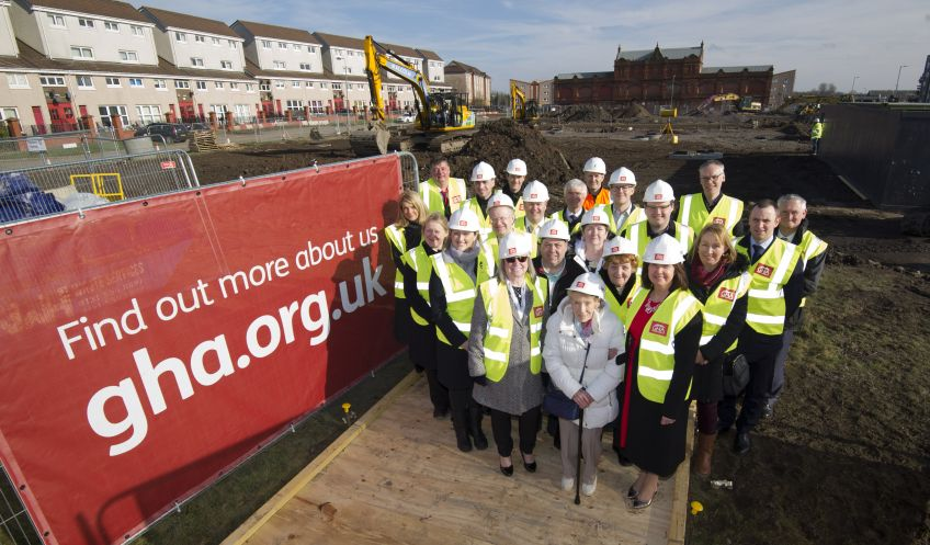 Work starts on new GHA homes in the Gallowgate
