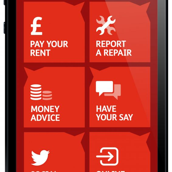 Smartphone app for GHA tenants