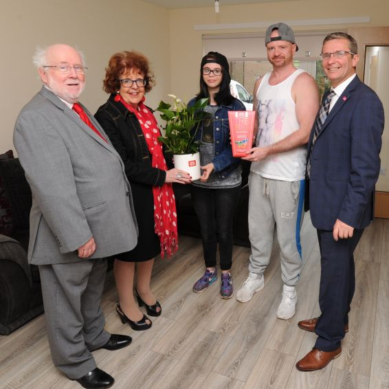 New home changes life for tenant John