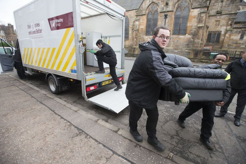 Wheatley's Home Comforts provides free furniture to tenants