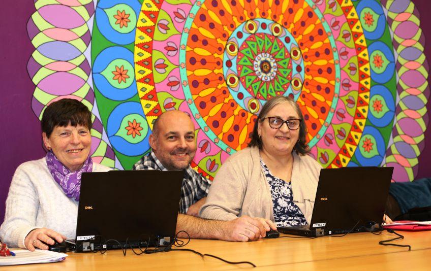IT classes at Castlebay Tenants' Hall