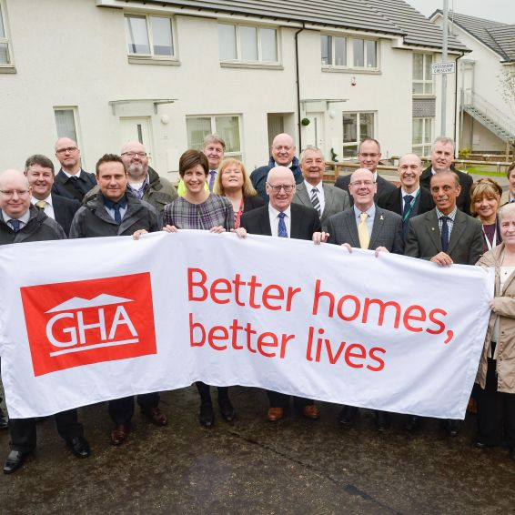 100 new homes open in North Toryglen