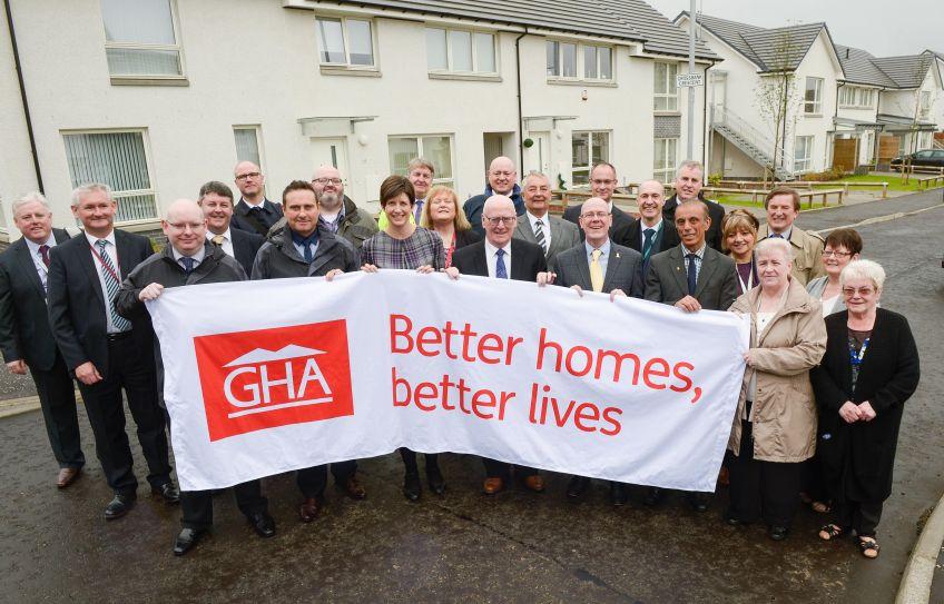 100 new homes open in North Toryglen