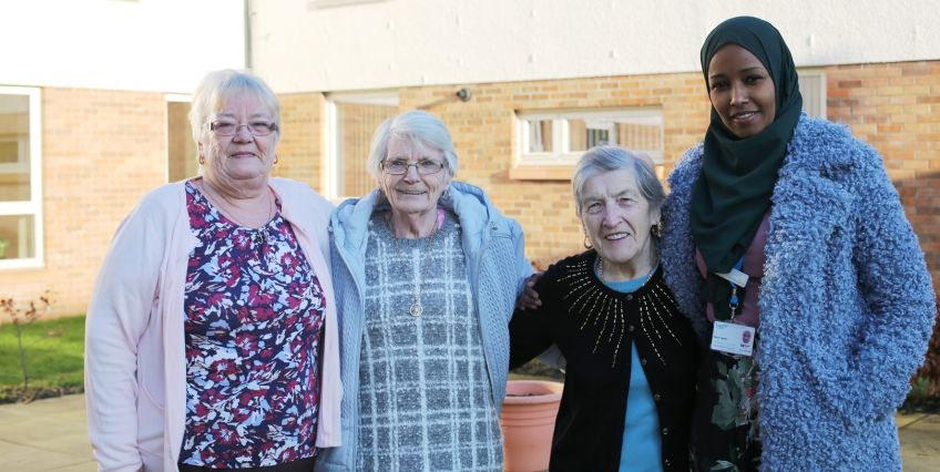 Livingwell tenants at Marfield