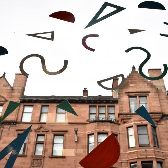 Windowsd become works of art at Saltmarket Hi