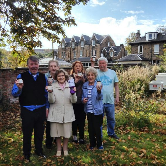 Crosshill tenants welcome new bee