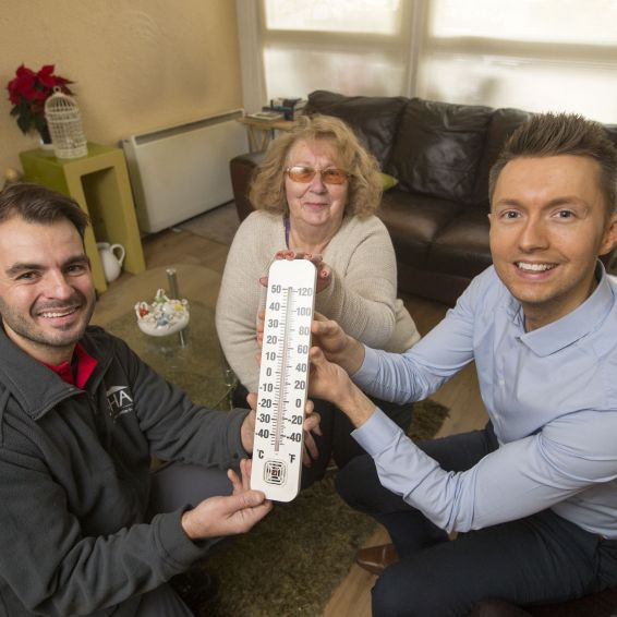 TV weather predicts warm winter for tenants