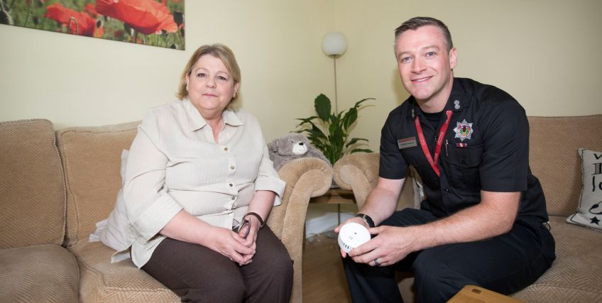 Get a home fire safety visit