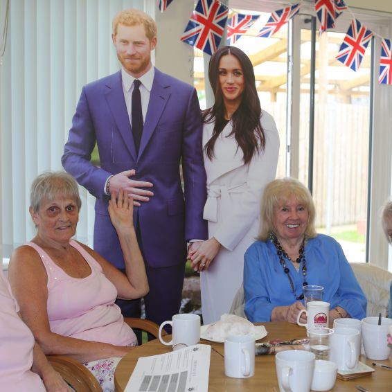 Older tenants celebrate Royal Wedding