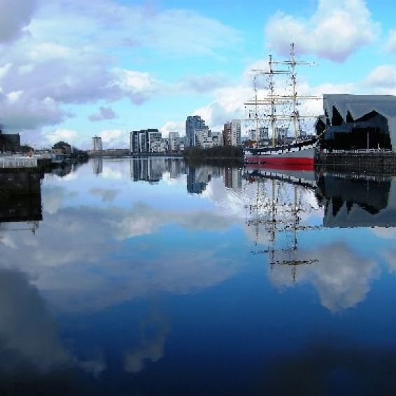 Photo of riverside museum, Glasgow