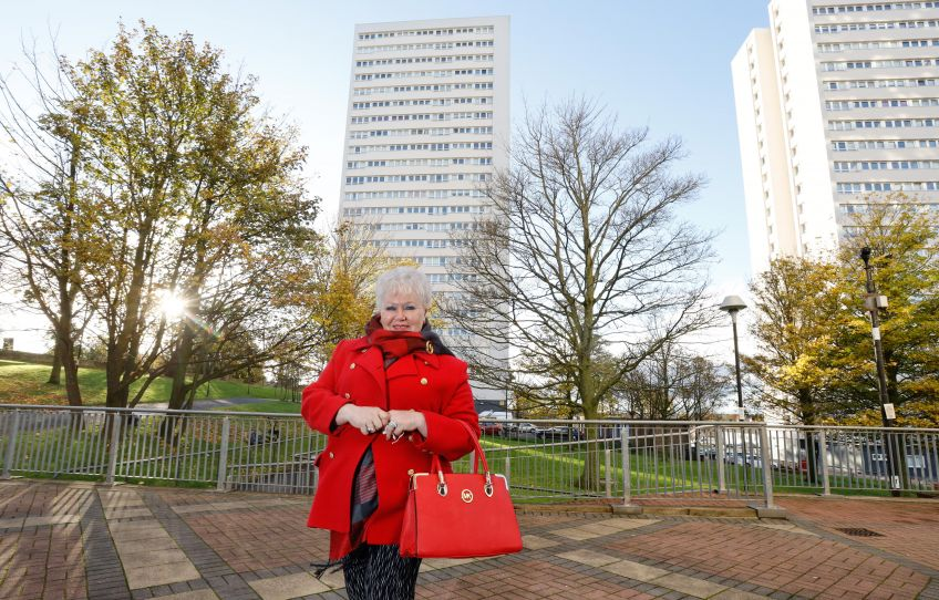 GHA tenants, including Doreen McCrindle, love living in high rise blocks