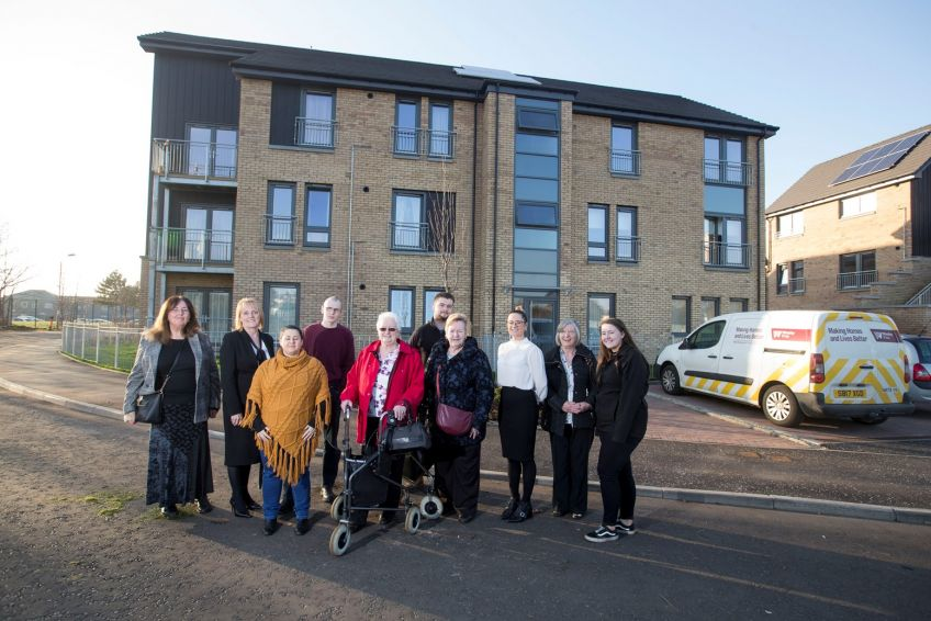 Tarfside new-build homes