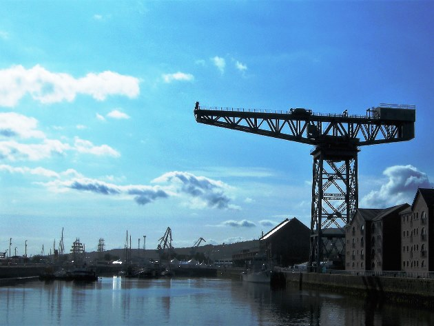 Finnieston Crane by the Clyde