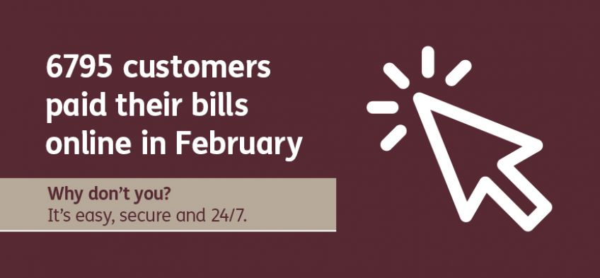 Why don't you - customers pay bills - February 2020