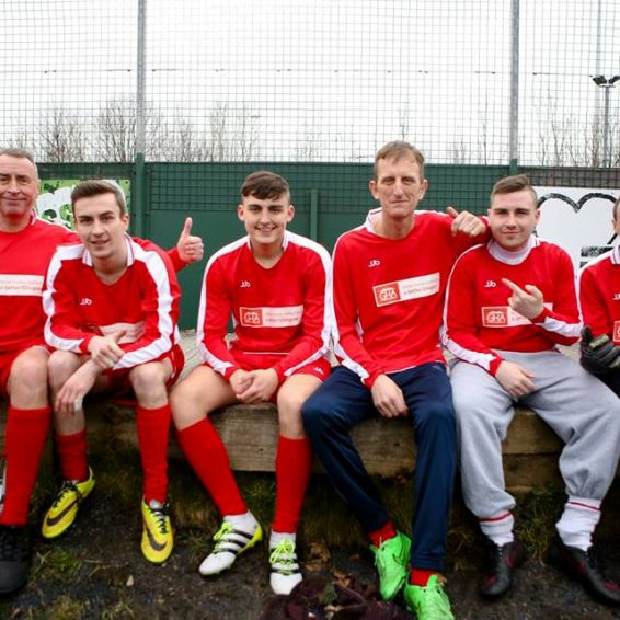 GHA staff football team