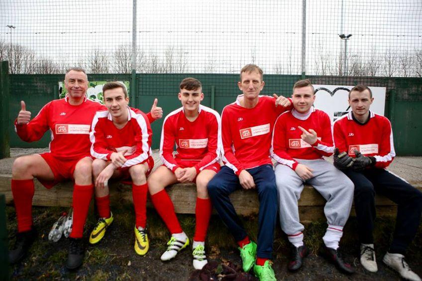 GHA staff football team