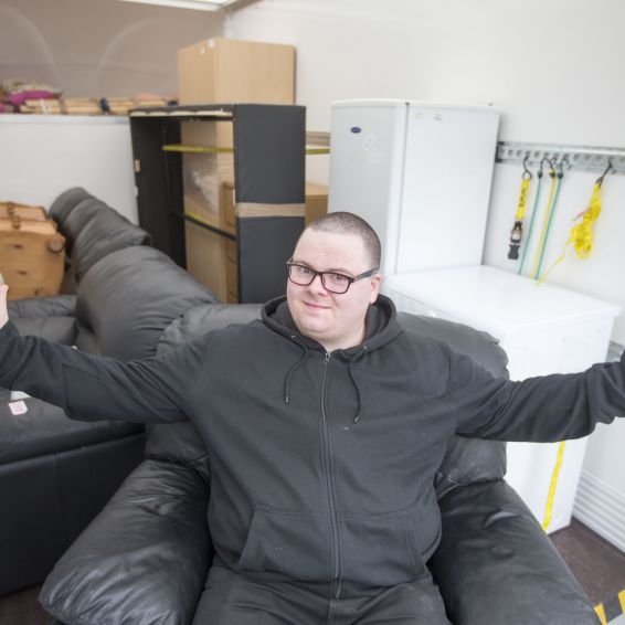 GHA tenant Alan Digney praises Home Comforts