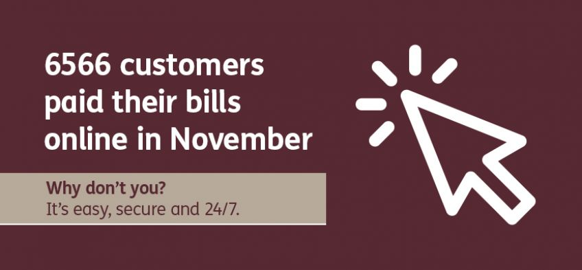 Why don't you - customers pay bills - November 2019