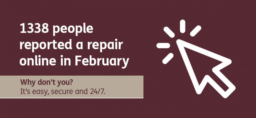 Why don't you - report repair online - February 2020