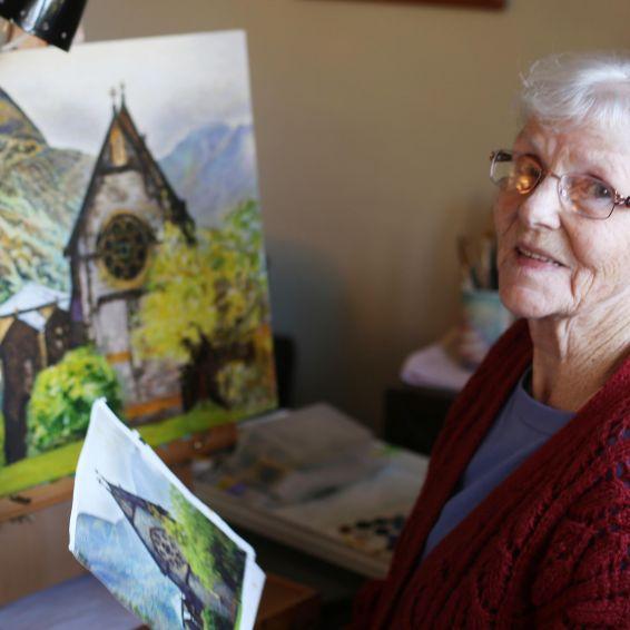 Dora MacDonald amateur artist