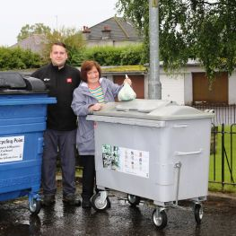GHA is encouraging tenants to recycle