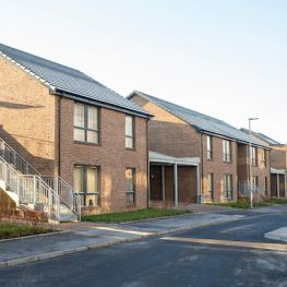 GHA new-build homes at Kingsway Court in Scotstoun