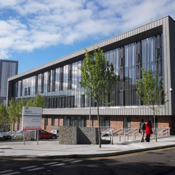 The newly-completed Maryhill health and care centre