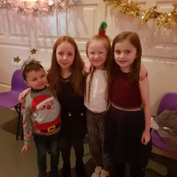 GHA funded a Christmas party in Leithland Neighbourhood Centre in Pollok