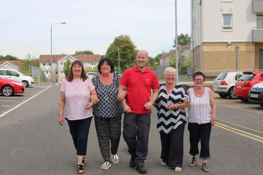 Castlemilk tenants have been working with KSB to improve communities