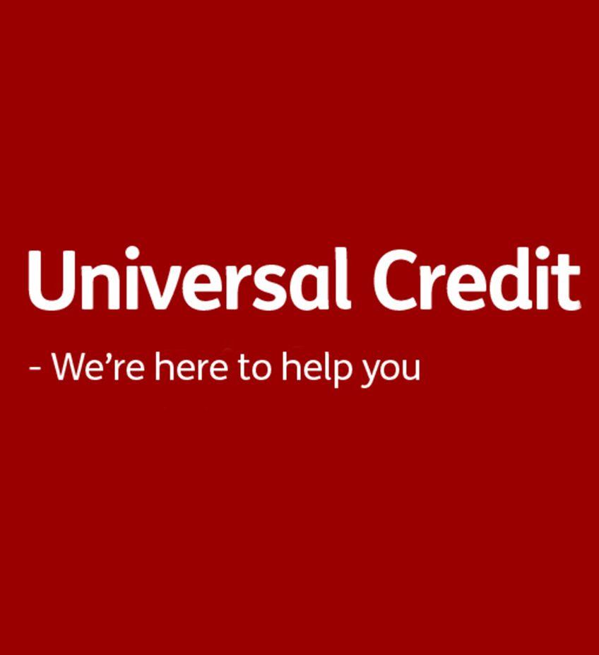 Universal Credit landing page