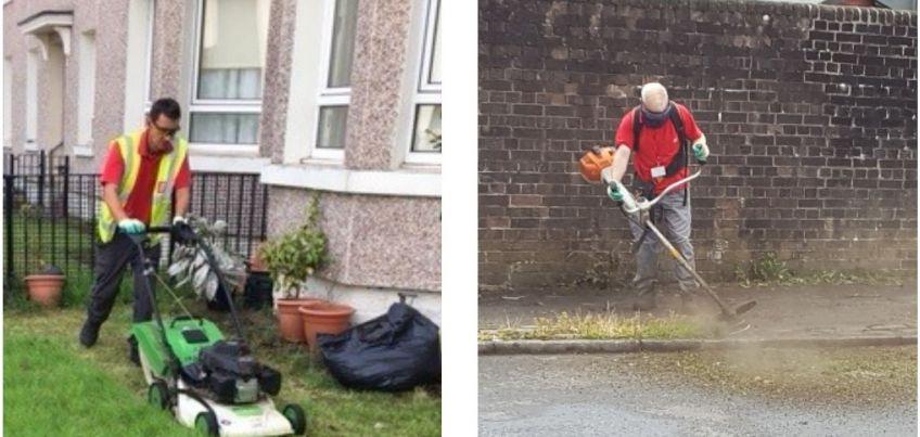 The Neighbourhood Environmental Team in action