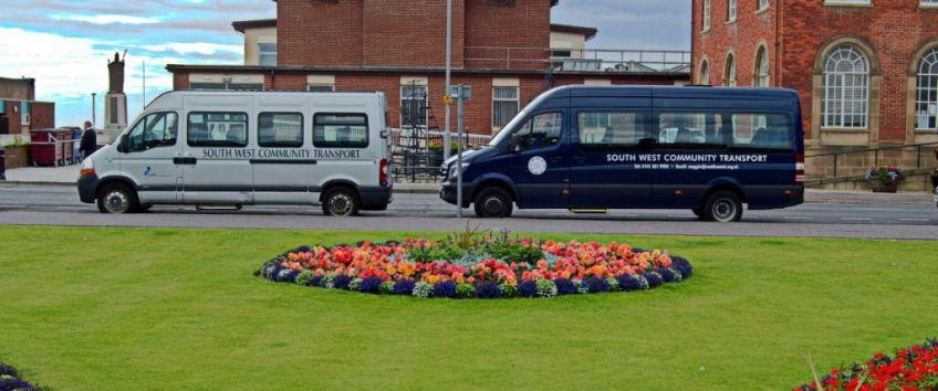 South West Community Transport minibus