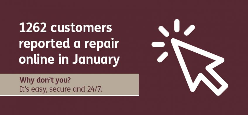 Why don't you - report repair online - January 2020